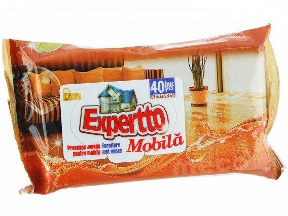 Servetele umede mobila Expertto 40 buc/set