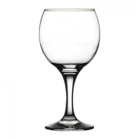 Pahar din sticla pentru vin rosu Bistro 225ml 44412