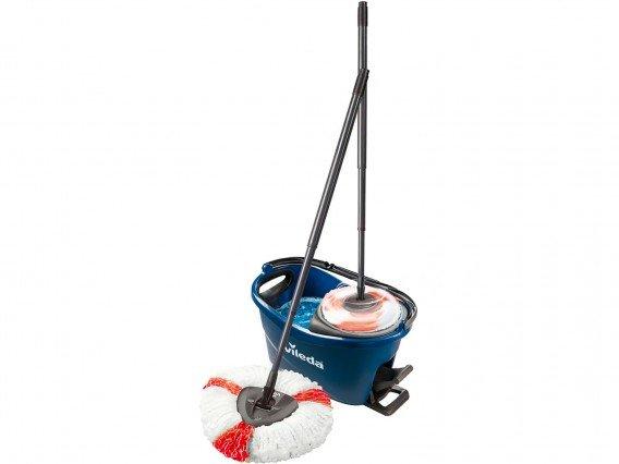 Mop rotativ Vileda EasyWring&Clean Turbo Color (Albastru)